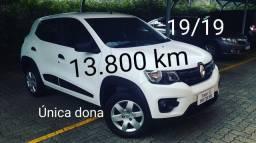 Kwid Zen 19/19 completinho.   Única Dona só 13.800 km
