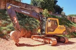 Escavadeira Volvo EC140B (entrada+parcelas)