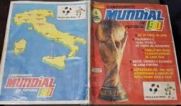 Título do anúncio: Álbum Panini da Copa do Mundo de 1990