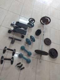 Vende-se equipamentos de ginástica