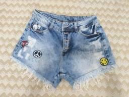 Short jeans 38 (desapego)