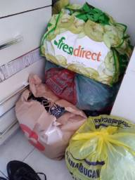 Desapendo de roupas para bazar