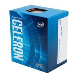 Processador intel celeron g3930 dual-core 2.9ghz 2mb cache lga1151, bx80677g3930