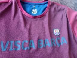 Vendo camisa semi nova Barcelona original
