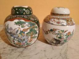 Duo de potiches chineses vintage