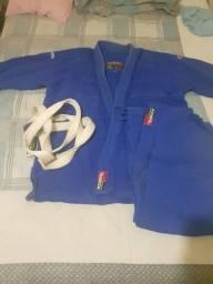 Kimono koral  Azul