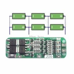 Placa Proteção 3s Bms 20a arduino
