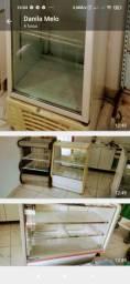 Balcão geladeira e pista fria