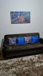 Sofá cama marrom - novinho