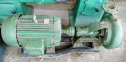 Conjunto motor elétrico e bomba