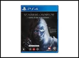Jogo Terra Média Sombras de Mordor jogo de ps4