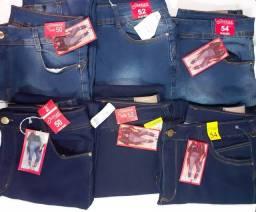 Lote de calça jeans Plus Size