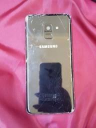 Título do anúncio: Celular Samsung A8 Para Peças