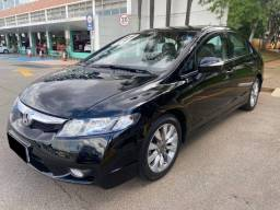 Civic preto 1.8 LXL 16V Flex 4P Aut 2011