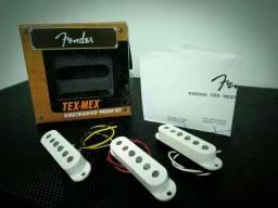 Set captadores Fender Tex Mex Original na caixa
