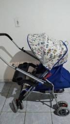 Carrinho de bebê (usado mais bem conservado).