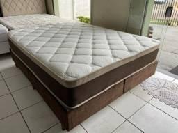 cama box queen size - macia - entrego