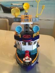 Título do anúncio: Imagineiro Super Navio Aventura com Submarino