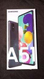 Samsung A51 novo na cx