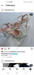 Vendo sandália da Clara  Mota 37
