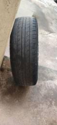 Vendo jogo de rodas aro 14 com pneu, rodas 4x108 Ford.