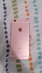VENDO OU TROCO IPHONE 6S ROSE 32 GIGAS