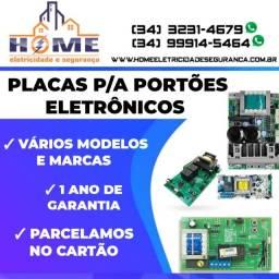 Placas p/a Portões Eletrônicos *