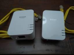 Título do anúncio: Powerline 1000mbps D-Link DHP-601AV AV2
