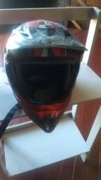 Vendo capacete moto cross