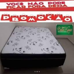 Título do anúncio: Cama Box Casal+Colchão Conjugado Entrega Grátis Imediata