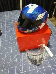 Vendo capacete hjc rpha11 capitão america número 56
