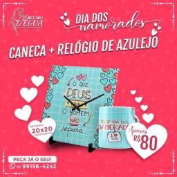 Combo Caneca + Azulejo