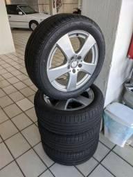 Jogo de roda Mercedes aro 17