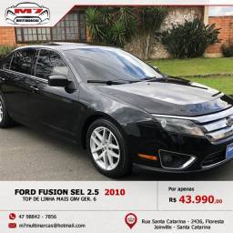 Lindo Ford Fusion 2010 com kit Gnv Ger. 6