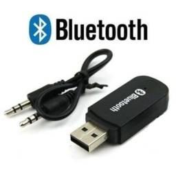 Entrega Grátis - Adaptador Bluetooth P2 Aux Musica Receptor Som Usb Carro - 2