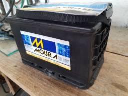 Bateria Moura de 75Ah tecnologia EFB para veículos com Start Stop
