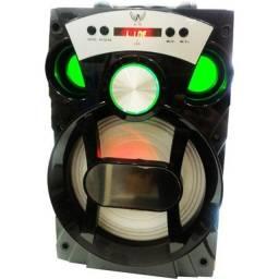 Caixa De Som Portátil A-79 Com Bluetooth Fm Sd Pendrive- 15watts