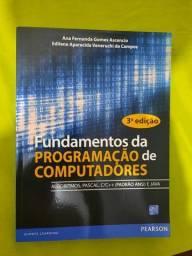 Título do anúncio: Livro - Fundamentos da programação de computadores