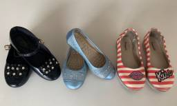 Título do anúncio: Kit 03 sapatilhas Infantil - Tam. 27