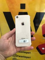 iPhone 8, 64GB - Dourado/Cinza Espacial/Prata