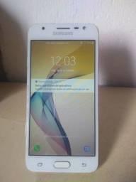 Samsung J5 Prime Todo Bom Traseira Com Pouca Marca De Uso
