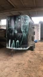 Carroça para cavalos trailer