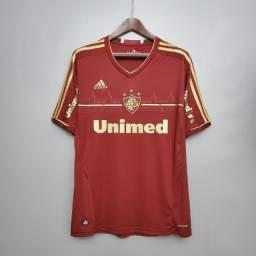 Camisa Fluminense Grená Dourado 2012 Adidas *Raridade*