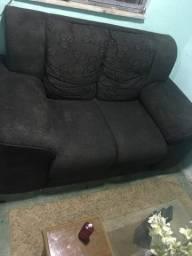 Vendo sofá com marcas de uso