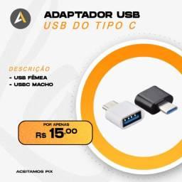 Adaptador USB - USB do Tipo C