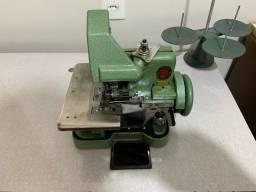Máquina overloque semi industrial com mesa R$ 550,00