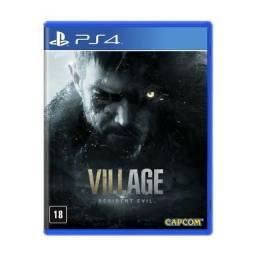 Resident evil village digital primária