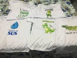 Vendo camisetas personagem da vacina