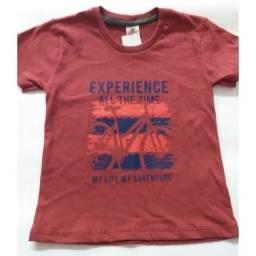 Kit camisetas infantil menino - 2 peças