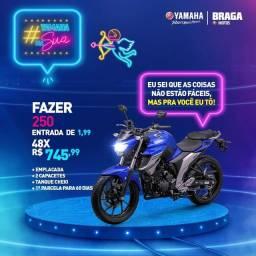 Promoção Fazer 250cc, N Max 160cc Neo 125cc